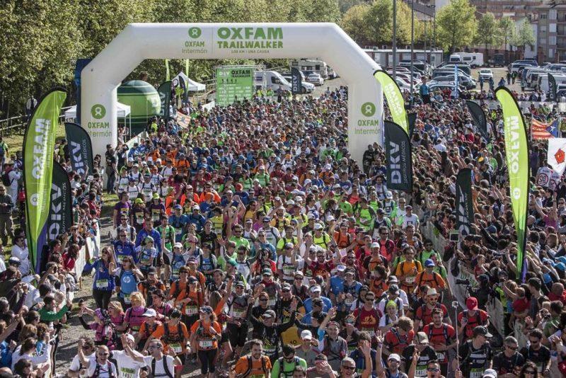 Oxfam trailwalker