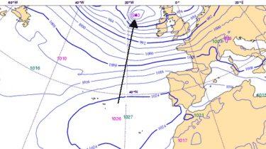 mapa meteorológico