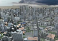 Viento entre edificios, sustancias radiactivas y evolución de incendios; algunos usos del modelo meteorológico.